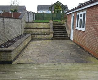 Patio Deep clean in Mansfield,